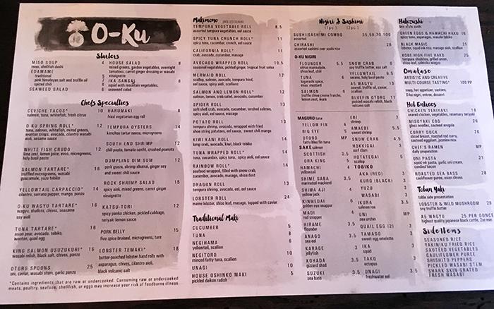 oku-sushi-menu-charlotte