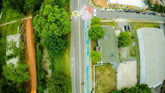Cover photo by Ben Premeaux from the first Open Streets 704.