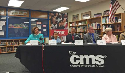 School letter grades and test scores show a steadily improving CMS....