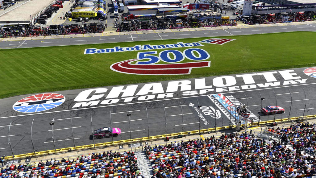 Win four tickets to the Bank of America 500 on October 8
