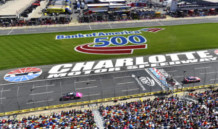 Win two tickets to the Bank of America 500 on October 8