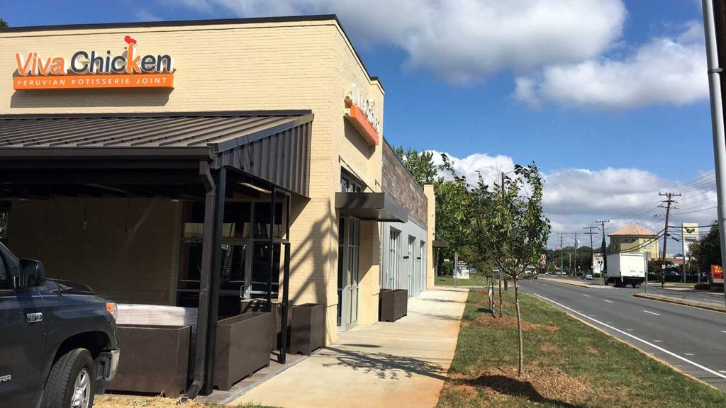 Viva Chicken's new Park Road spot wraps construction and will open next month