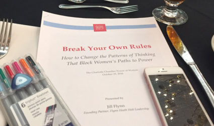 I went to the Chamber's $30 Power of Women networking event. Here are my 5 takeaways.