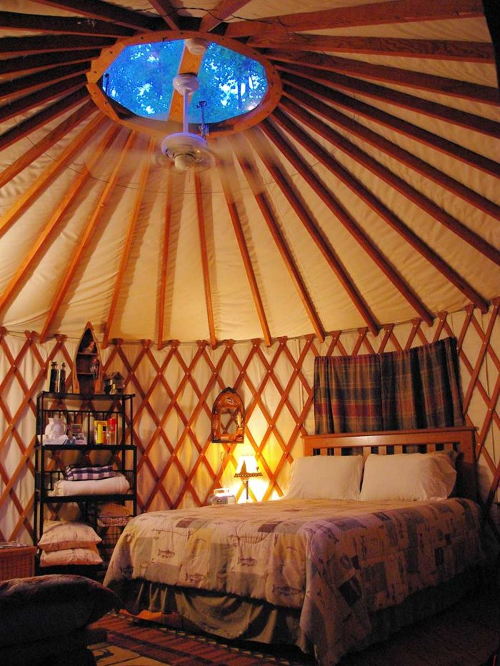 Tipis Yurts And Treehouses 10 Unique Glamping Sites