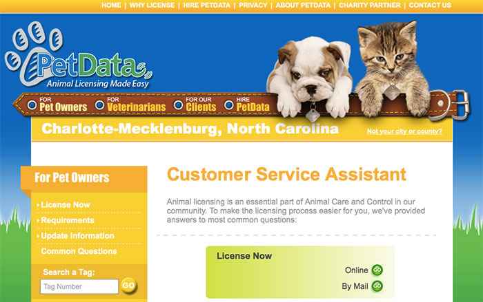 pet data website