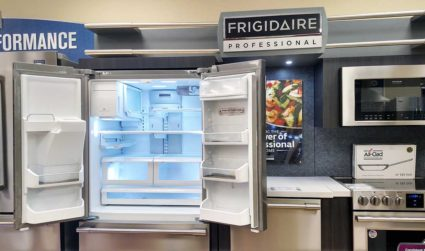 We're stocking a Frigidaire Professional fridge – guess the value of...