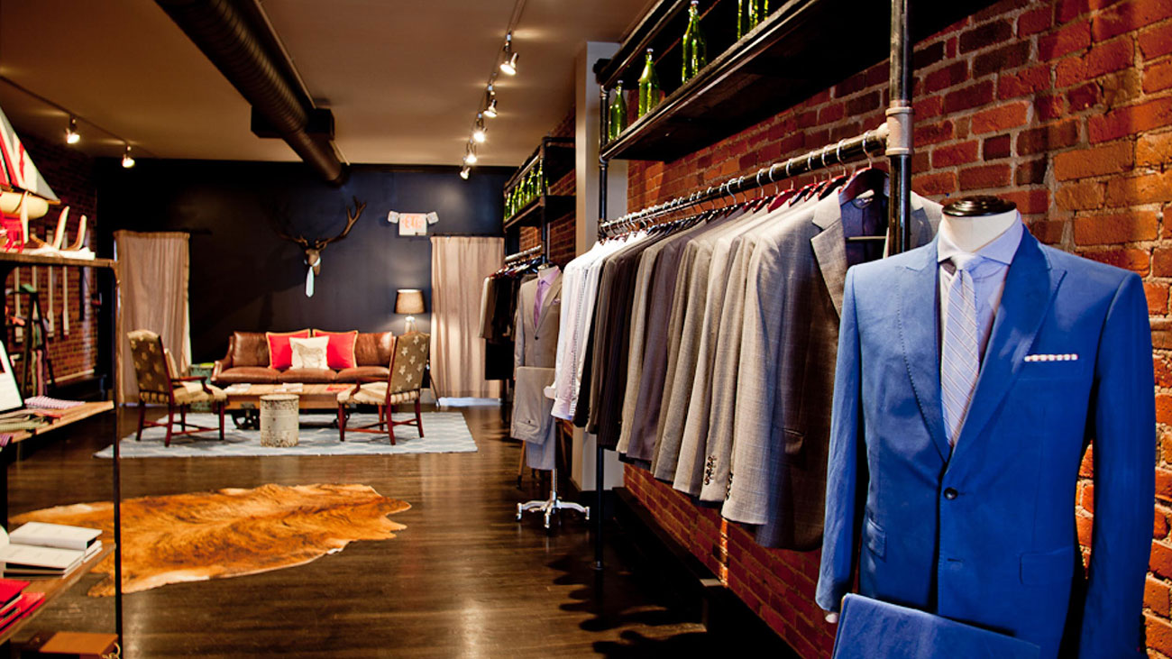 Alton Lane, a custom men's clothier, opens October 27 at South End's Atherton Mill