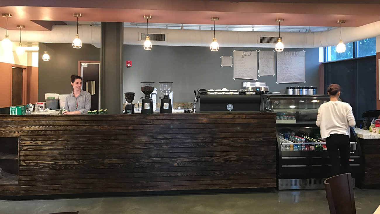 Central Coffee is finally open in South End