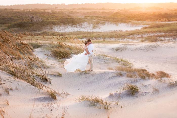 wedding pictures dunes