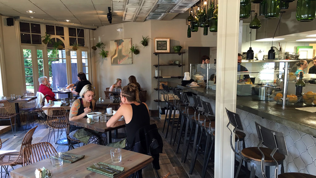 Fern now open in Dilworth. Go inside and view this vegetarian restaurant's menu.