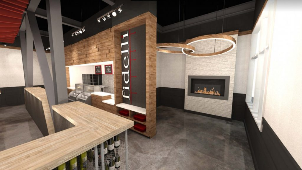 Fidelli Kitchen will add a fast-casual Italian restaurant and boutique wine and beer shop to South End