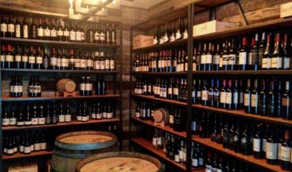 There's a new sneaky little hidden wine cellar and tasting room...