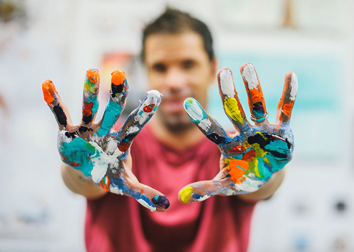 kent youngstrom paint hands