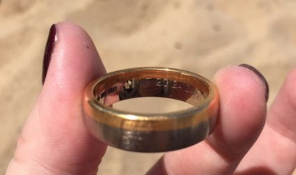 Charlotte couple found lost wedding band in St. Lucia and then tracked down the original owner in South Africa
