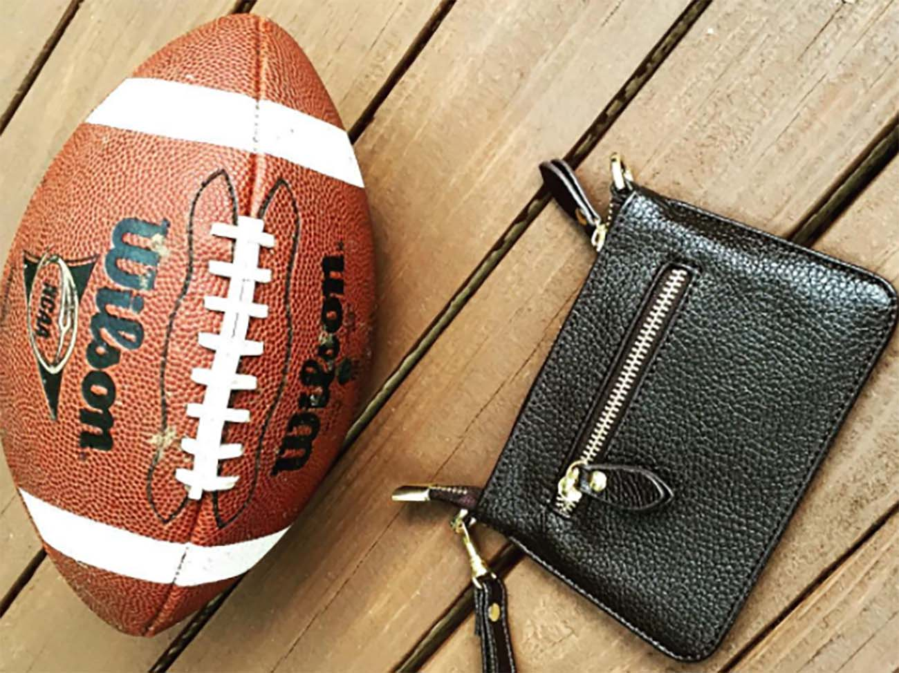 Charlotte Startup Policy Handbags Is Setting Out To Make The Nfl S Handbag Fashionable