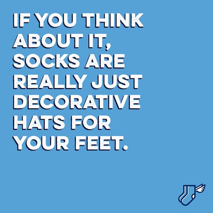 socks hat for feet