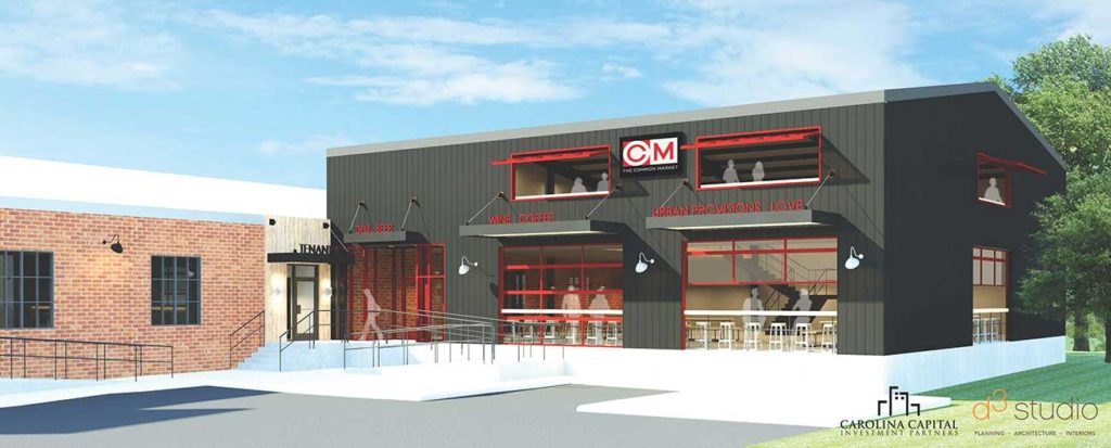 Common Market is returning to South End, a half mile from its former location
