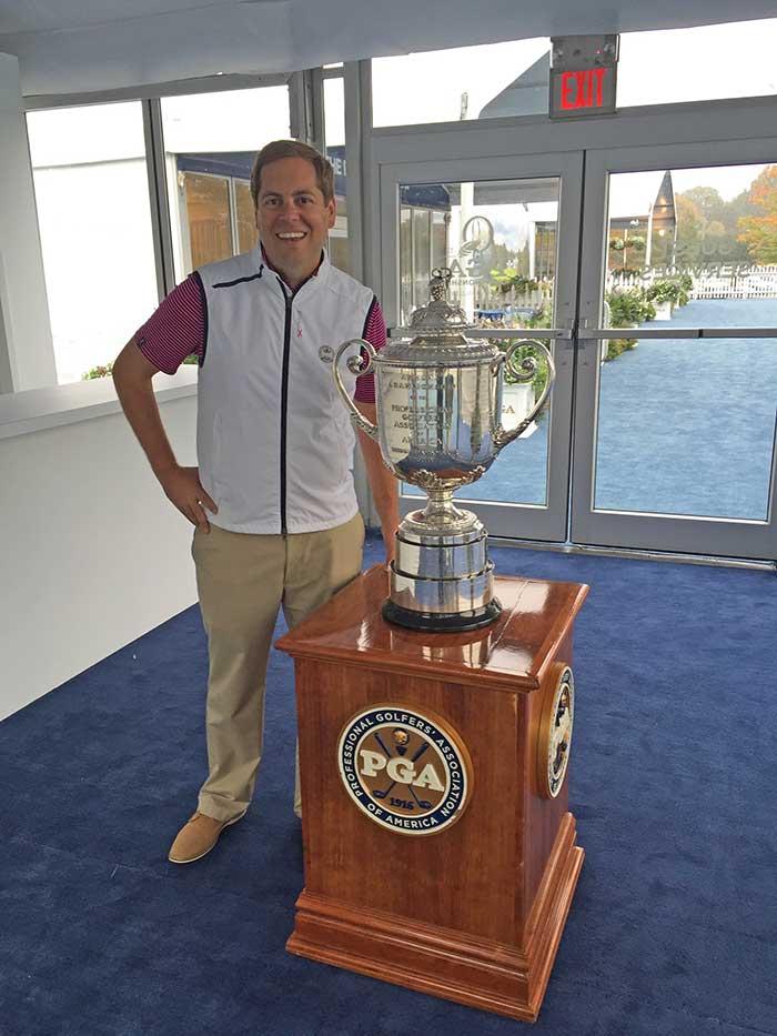 Jason Mengel, director of the 2017 PGA Championship