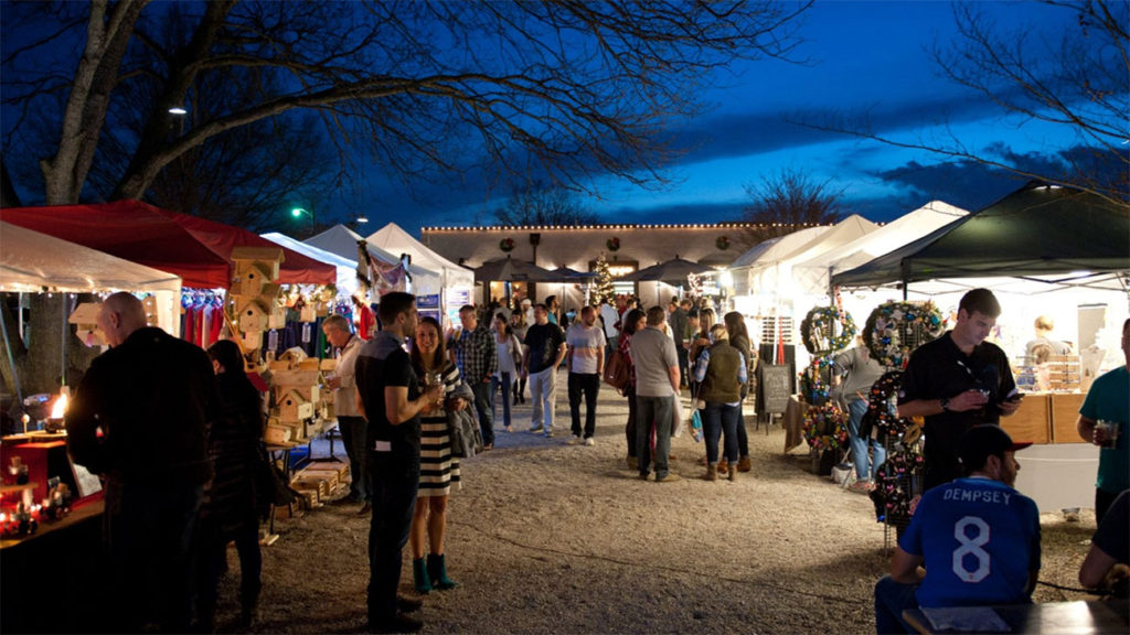OMB's Christmas market comes to life today. Here's the schedule and a complete list of vendors
