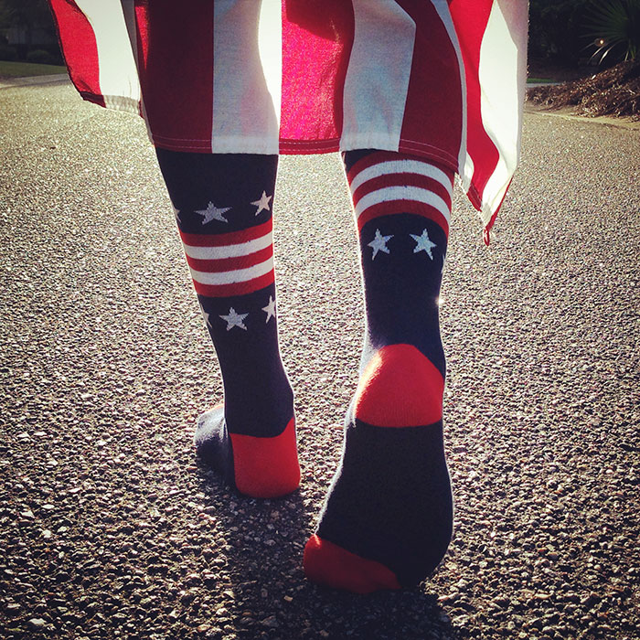 boldfoot flag socks