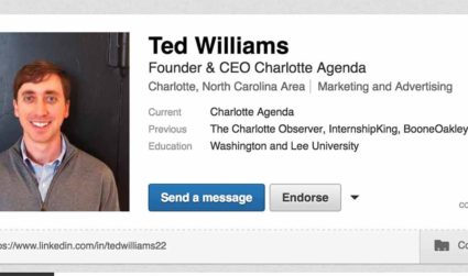 We asked a Lowe's recruiter to help Ted optimize his LinkedIn...