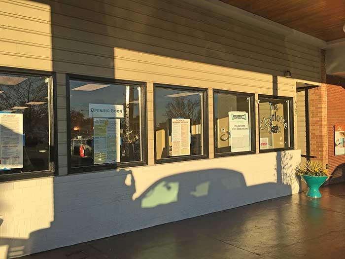 Charlotte Cafe Park Road Shopping Center