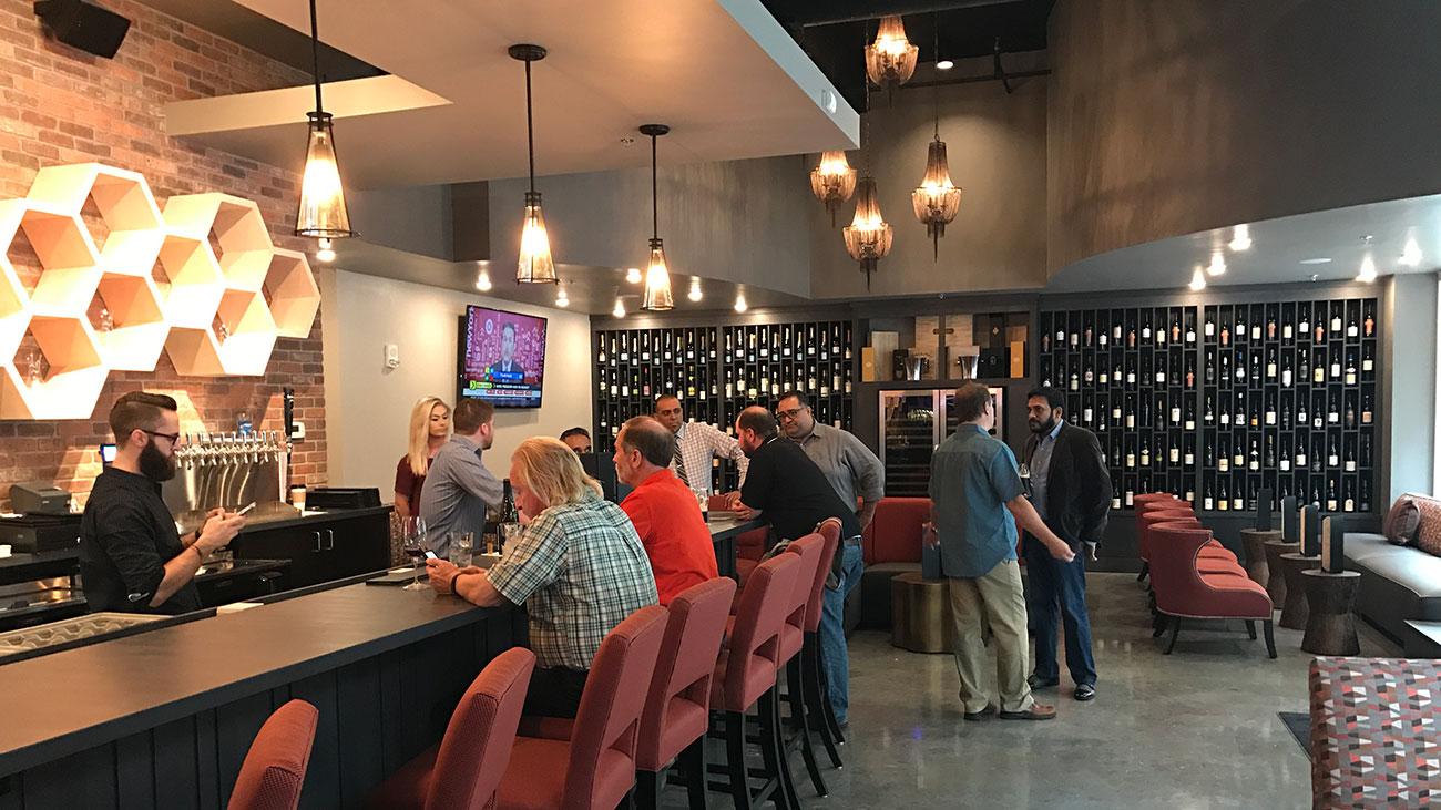 Corkscrew Wine Bar in the Vue is now open