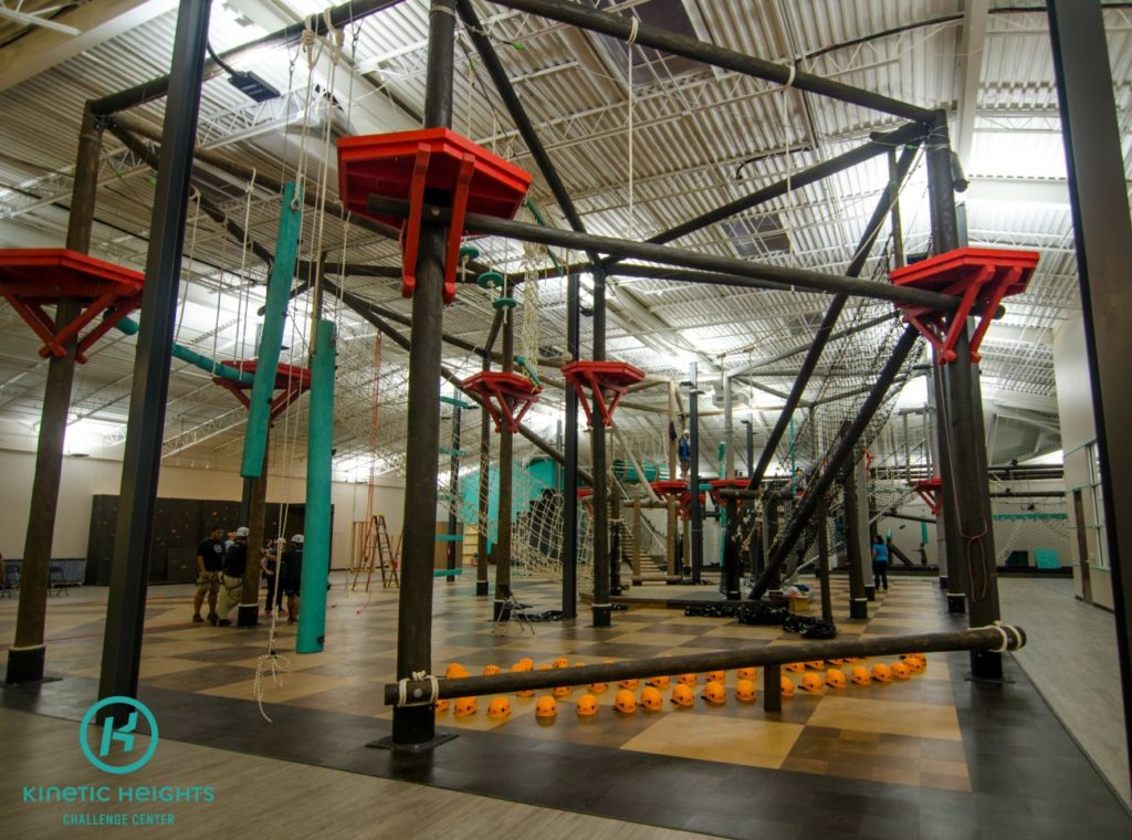 How to pay $20 for a Ninja Warrior type experience – bouldering wall, ropes course, warped wall, zip lines and more