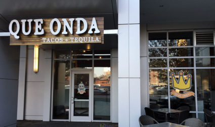 New taco + tequila restaurant named Que Onda now open in...