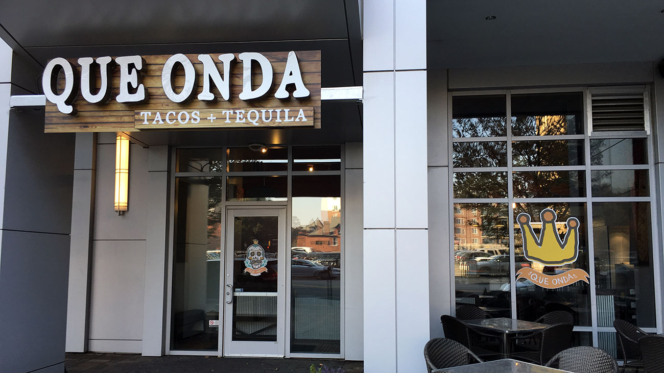 New taco + tequila restaurant named Que Onda now open in Uptown