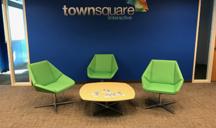 Townsquare Interactive just took over two floors of a building in...