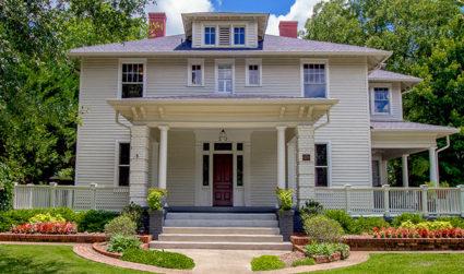 Bishop John C. Kilgo House-listed on the National Register of Historic...