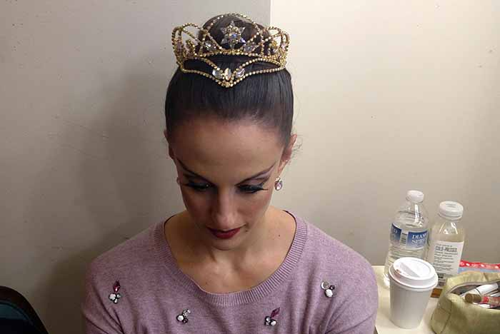 Close-up of the new Sugar Plum crown