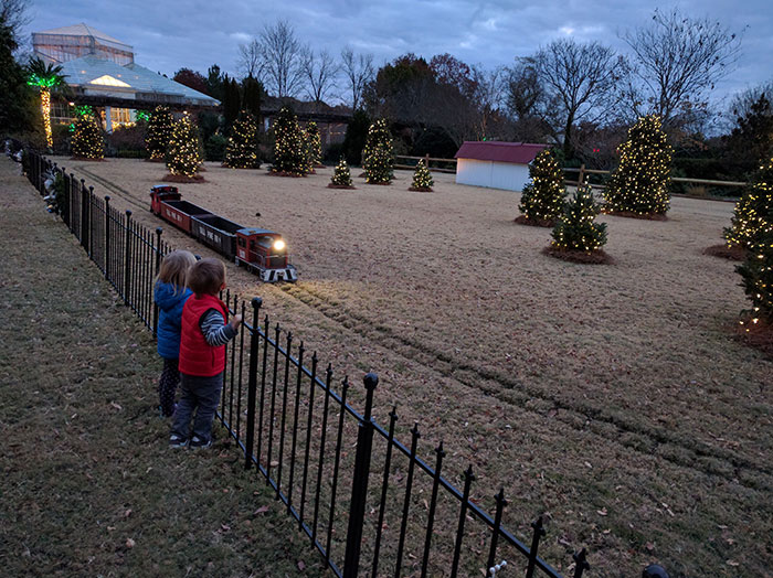My Toddler And I Are Obsessed With Daniel Stowe Botanical Garden S Holidays At The Garden