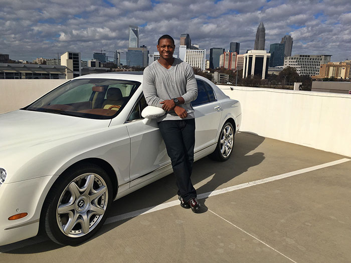Owned By Ex Panther Everette Brown And His Wife, Tenisha, Charlotte Luxury  Rentals Makes Renting A Bada** Car Surprisingly Easy.