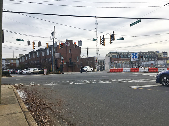 camden rd and tyron intersection