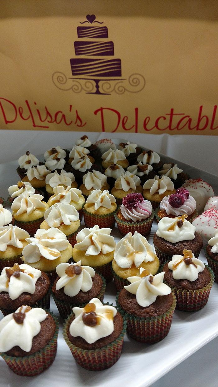 Delisa's delectables cupcakes