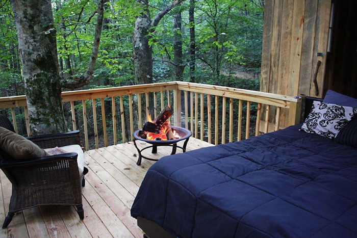 tree house decks 8 amazing treehouses you can book on airbnb right now charlotte