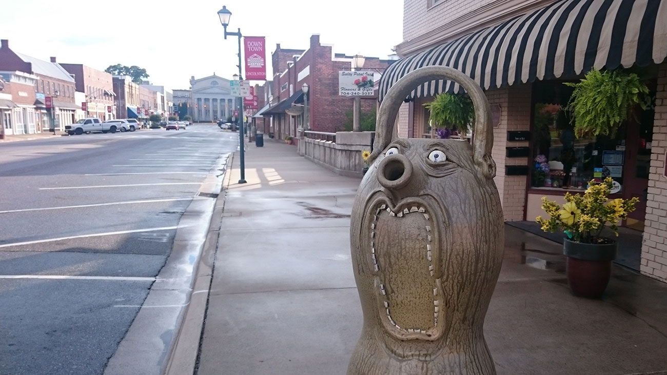 11 reasons to embrace whimsy and drive 45 minutes to the totally adorable town of Lincolnton