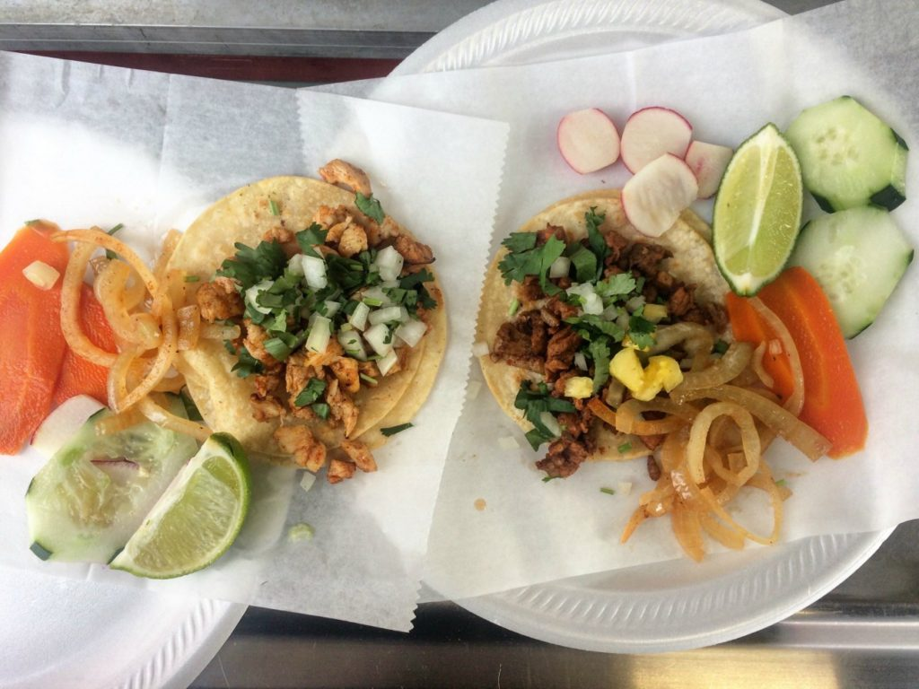 You must try the tacos at this gas station on South Boulevard