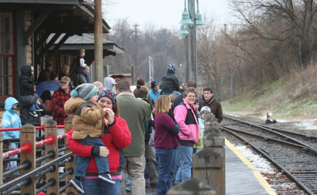 "NC Transportation Museum offers ""Winter Fever Train Rides"" to give parents an excuse to get kids out of the house"