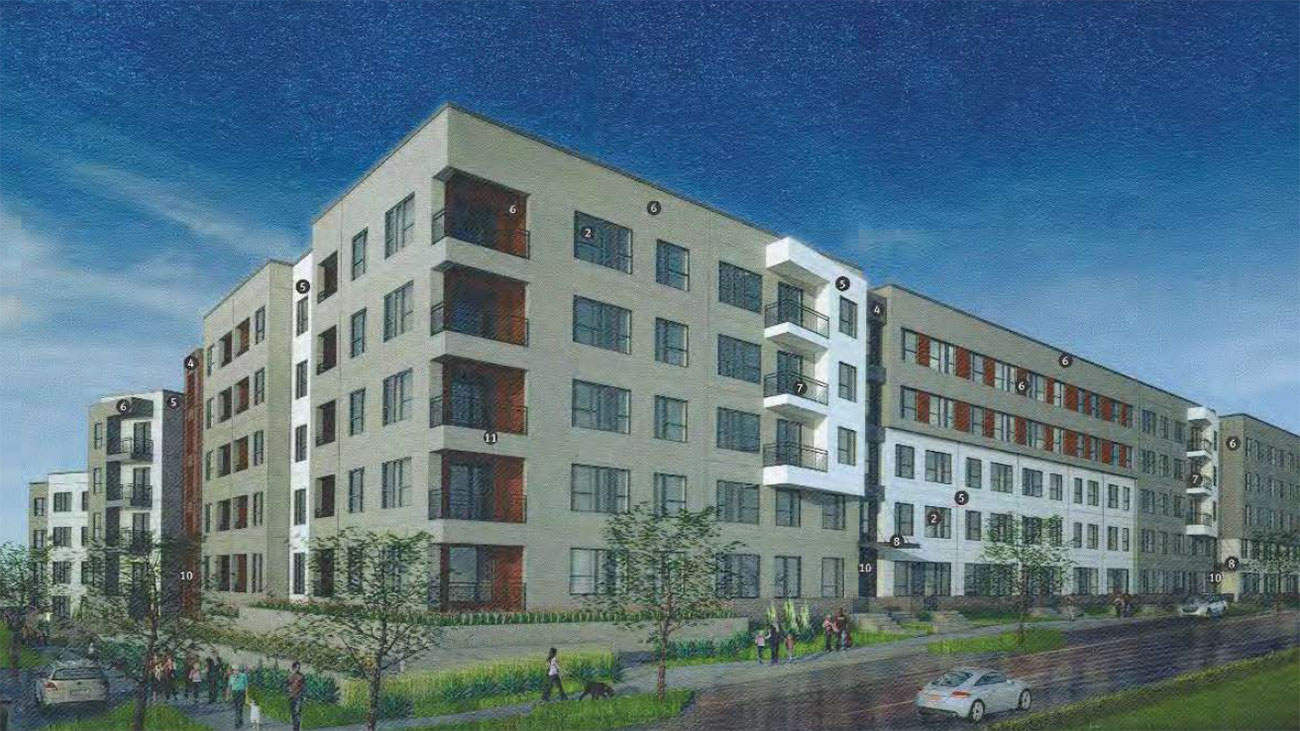 The details on the latest apartment project in Optimist Park