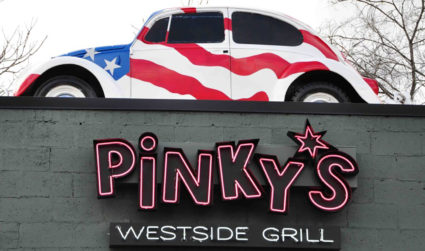 Pinky's is adding a heated patio so you can continue to...