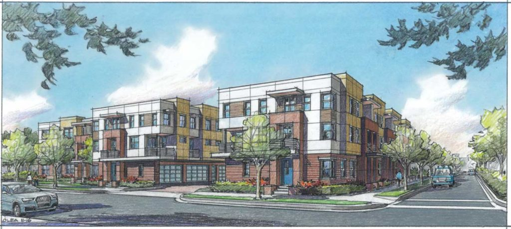 Luxury townhomes are coming to South End, by the new Common Market