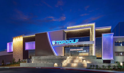 Topgolf is on pace for an early 2017 opening