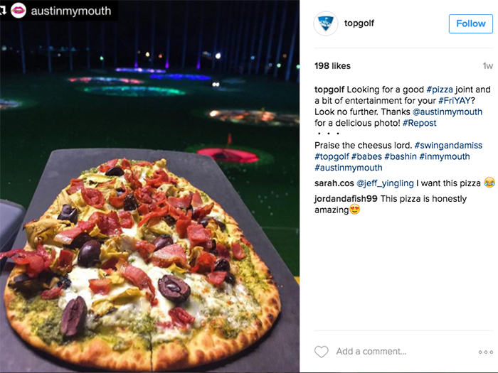 @topgolf via Instagram