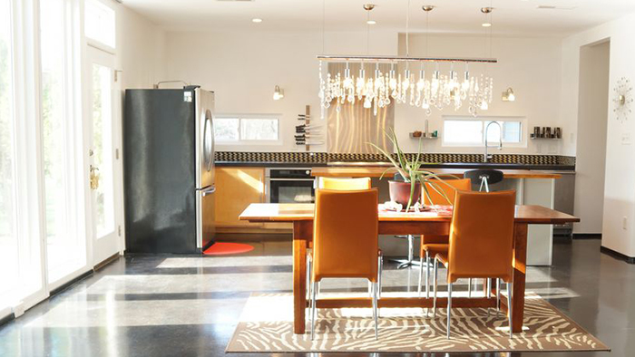 Stunning custom modern home in the heart of NoDa