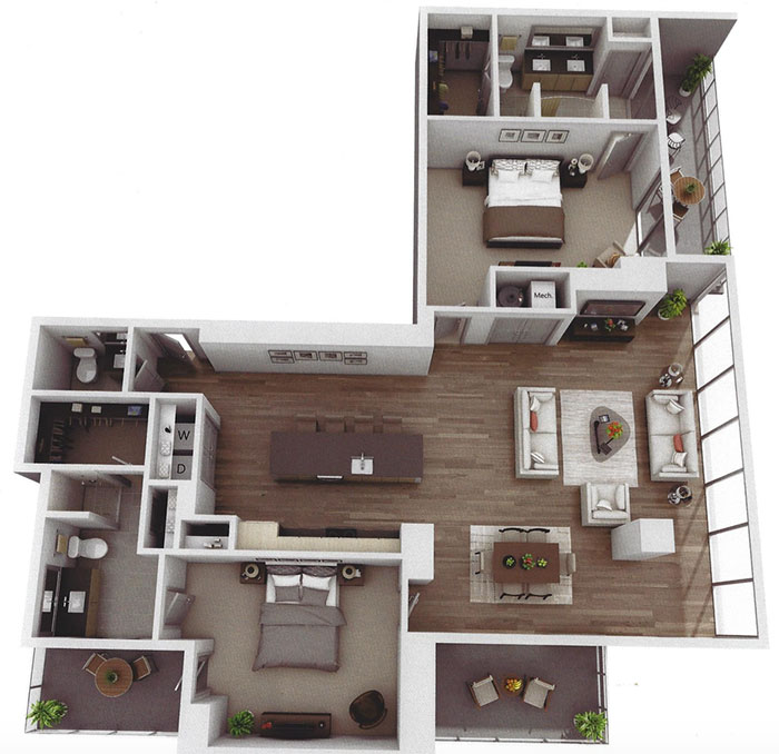 Museum-Tower-apartment-large-2-bedroom-apartment-layout-charlotte
