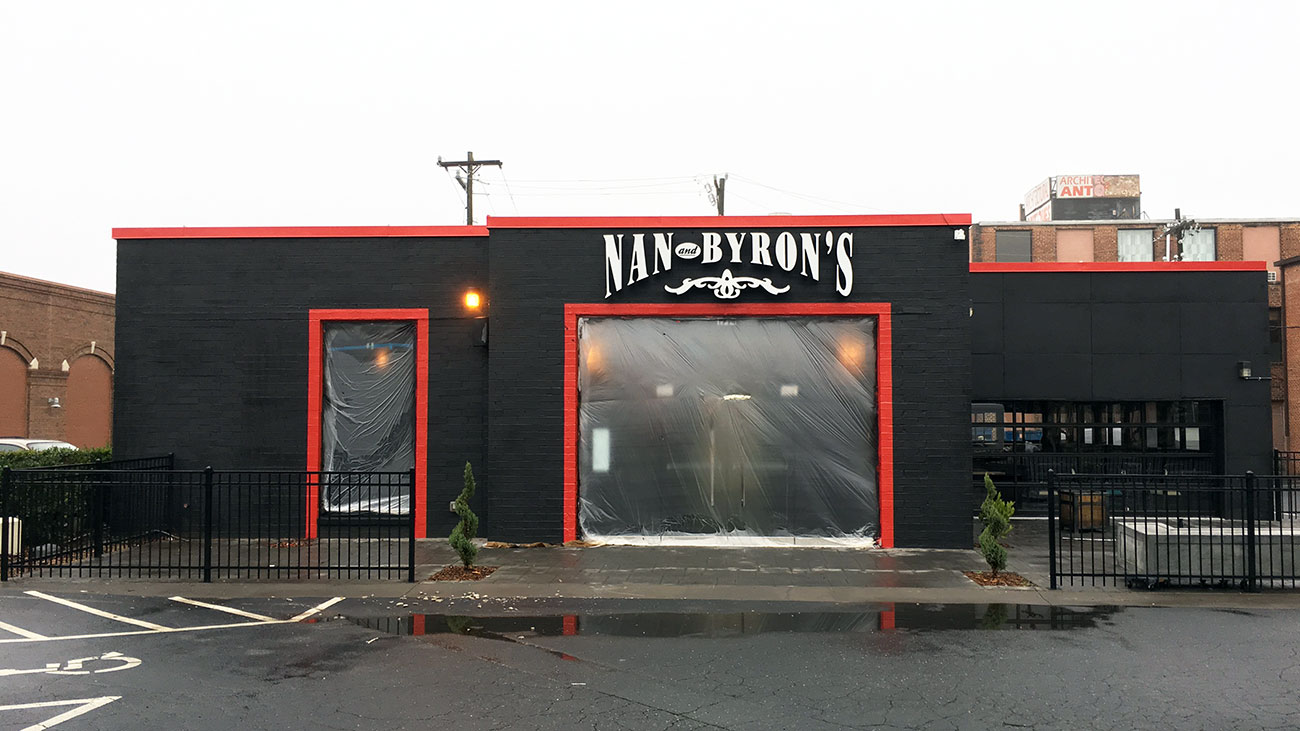 What's taking the place of Nan & Byron's in South End?
