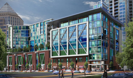 10Tryon will begin constructing 'funky' office space and likely a Publix...